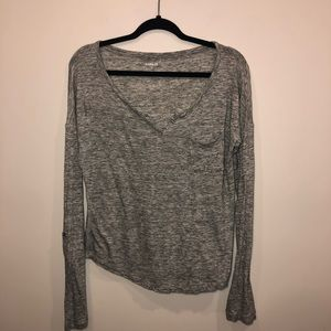 Express Long Sleeve Pocket Tee